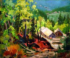 Perreault art gallery of Quebec - Normand Hudon Bruno, Art Gallery, Paintings, Modern Art, Colors, Art Museum, Fine Art Gallery, Paint, Painting Art