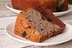 Duo Layer Chocolate Oreo Chiffon Cake
