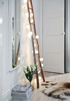 18 Whimsical Ways to Decorate With String Lights via Brit   Co