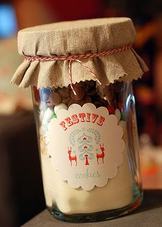 cookie mix in a jar reminds me of my great grandma miss her home cooking and baking