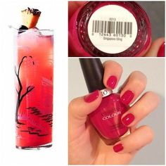 Cuccio Colour - Singapore Sling nail polish! http://www.thebeautybuyer.ca