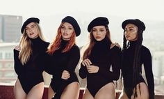 """Happy Little Mix just debuted their newest single, """"Woman Like Me,"""" ft. Nicki Minaj, and it's the perfect addition to all your weekend playlists! Listen below: Little Mix Outfits, Little Mix Style, Little Mix Girls, Jesy Nelson, Perrie Edwards, Jack Whitehall, Little Mix Poster, Mtv, Meninas Do Little Mix"""