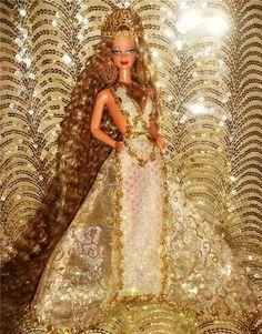 Aphrodite The Goddess of Love Beauty and Desire Greek Goddess Barbie Doll OOAK   eBay