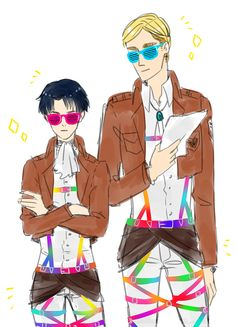 Attack on Titan. So FABULOUS !!!!!!!! titan killers by day hardcore fabulous ravers by night