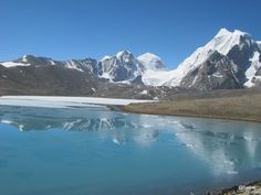 #Gurugondmar Lake- The place is holy and gives a breathtaking view with lake #frozen into snow. The place has #lessoxygen, so its #difficult to stay for more than an #hour. To reach the place, we have to halt in #Lachen for night. The #travelling from #Gangtok is bit hectic but with #superb views on the way.
