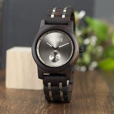 Starting A Farm, Watch One, Natural Rubber, Made Of Wood, Wristwatches, Wood And Metal, Wood Watch, In This World, Quartz