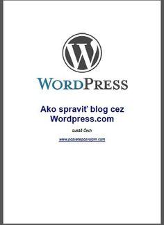 blogovanie cez wordpress