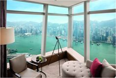 Ritz Carlton, Hong Kong – World's Tallest Hotel