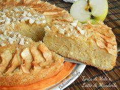 La Torta di Mele e Latte di Mandorle è un dolce goloso,ma allo stesso tempo sano e genuino