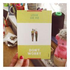 Postcard_Don't worry - SeoulPicks.com