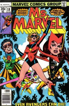 Ms Marvel #18 first appearance of Mystique.