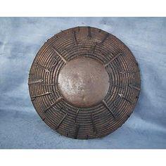 Antique 17th century Mongol Tatar Tibetan Shield Kalkan