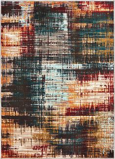 Sedona at Oriental Weavers Art Grunge, Nature Color Palette, Painted Rug, Grunge Outfits, Gold Rug, Area Rug Runners, Modern Area Rugs, 3d Max, Blue Area Rugs