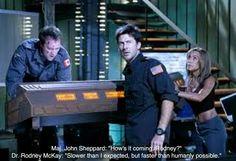 Stargate Atlantis.