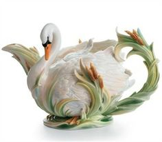 The Swan collection is by far the most spectacular! The heart of the collection. $250.00
