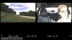 Distractions and Teen Driver Crashes - Dashcam and Driver's Face