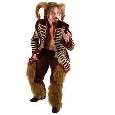 Adult Costume Ram Horns