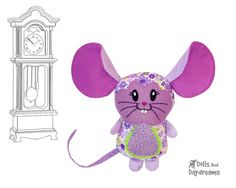 Mouse Sewing Pattern - Dolls And Daydreams