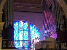 Tindari (Me) - L'organo del Santuario della Madonna Nera