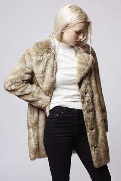 Photo 4 of Faux Fur Tawny Coat