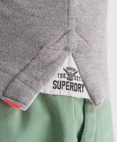 Superdry Classic Pique Polo - Men's Polo Shirts