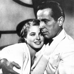 Ingrid Bergman and Humphrey Bogart in Casablanca (1942).