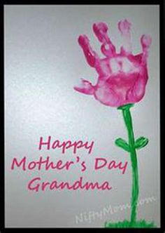 Mother's Day, Father's Day, Grandparent's Day, etc. Kids Crafts, Diy Mother's Day Crafts, Mother's Day Diy, Mothers Day Crafts, Baby Crafts, Cute Crafts, Crafts To Do, Projects For Kids, Happy Mothers Day