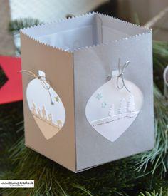 Mini-Leckereientüte Weihnachtliche Lampe