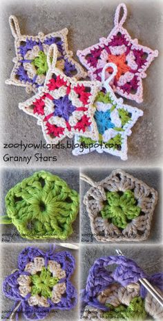 [Free Crochet Pattern] These Beautiful Granny Stars Will Look Great On Any Crochet Or Knitted Project