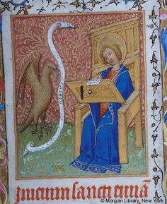 Book of Hours, MS M.1004 fol. 7r - Images from Medieval and Renaissance Manuscripts - The Morgan Library & Museum