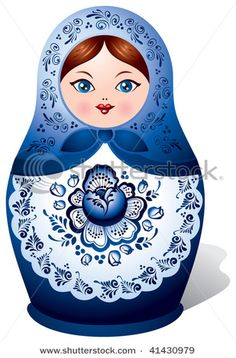 A Matryoshka doll, also known as Matrioshka doll. Matryoshka or Matrioshka is a set of dolls of decreasing sizes placed one inside the other. Matryoshka Doll, Kokeshi Dolls, Tableau Design, Russian Folk Art, Russian Babushka, Doll Painting, Thinking Day, Arte Popular, Wooden Dolls