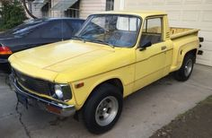 Cute with Attitude: Stepside Chevy Luv - http://barnfinds.com/cute-with-attitude-stepside-chevy-luv/