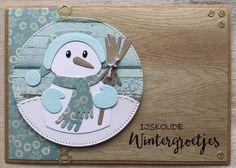 LindaCrea: Mr. Snowman #1 - Kerst 2016