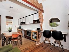 interesting way to integrate kitchen