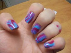 * Stacey's Nails *: Water Marble Photo Tutorial