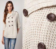 MODA Y ESTILO: Jerseis y chaquetas de tejido de punto otoño invierno 2012 2013