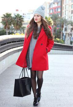 nice Purple Coat-zara -lefties -shana -oysho -oasap Check more at http://www.toplistly.com/pin/red-coat-zara-lefties-shana-oysho-oasap/