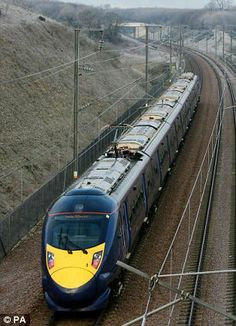 Hitachi moving rail business to Britain for bid Electric Locomotive, Diesel Locomotive, Train Tracks, Train Rides, Uk Rail, Europe Train, Trans Siberian Railway, High Speed Rail, British Rail