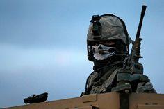 Weapon gun army