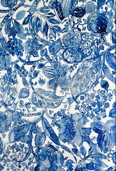 Lulu Sanchez- I love this pattern! It would make awesome curtains in a laundry room or even for throw pillows! M.