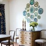 This article displays so many ways you can decorate with plates, who would have thought?
