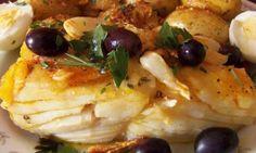 |Receita| Bacalhau ao Forno e Batatas ao Murro