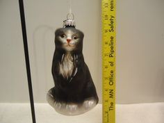 NEW BLOWN GLASS CAT CHRISTMAS ORNAMENTS LOT A25 Dept 56 | eBay Cat Christmas Ornaments, Christmas Cats, Cat Tree, Blown Glass, Holiday Decor, Ebay, Scratching Post, Cat Trees