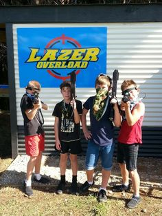 "Outdoor Lazer Tag Wanganui ""Open Day"" :)."