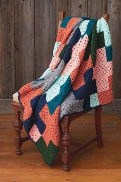 Caron® Simply Soft® On the Plus Side Afghan (Crochet)