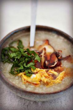 Les Cuisines de Garance: Un Congee pour le petit déjeuner {'hiver es-tu là ? }