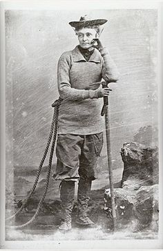 Annie Smith Peck Climbed the highest mountain in Peru when she was sixty