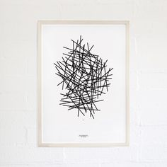 geometry of pasta poster