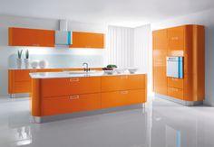 Why not an Orange Kitchen ?
