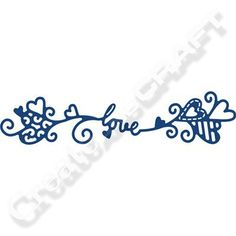 Tattered Lace Love Swag Die